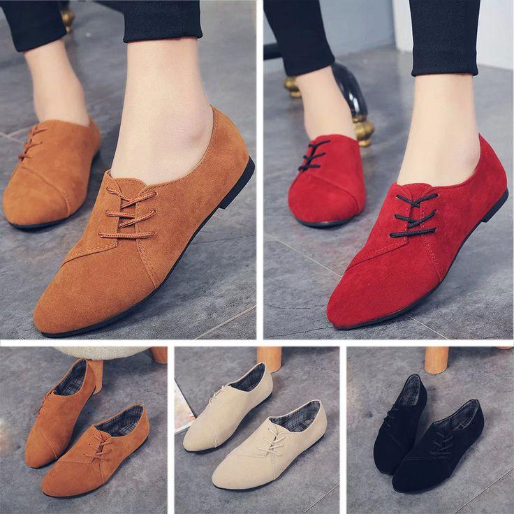 As Mulheres Flats sapatos de Balé Slip-on casual conforto único barco tornozelo Shoes loafers | Roupas, calçados e acessórios, Calçados femininos, Sapatilhas | eBay!