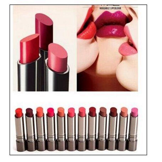 2016 Lipstick Best makeup lipstick 12PCS/LOT New Lipstick 12 different colors .Long Lasting Lipsticks Free shipping