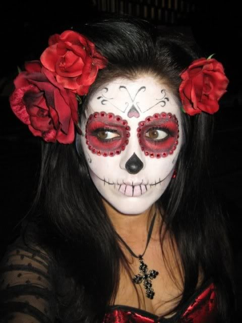 Day of the Dead makeup for this upcoming Halloween