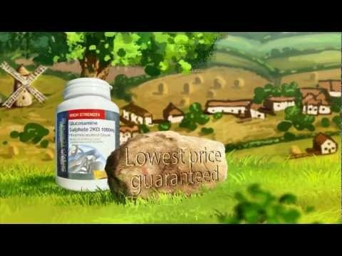 Check out our latest video advert featuring our Glucosamine!