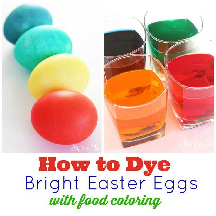 Did you know you can dye easter eggs with food coloring? No need to run to the store and buy an expensive egg dying kit! With a few ingredients, already in your cupboard, you have all you need to make bright Easter eggs! For more decorating ideas, check out this post on creative ways to decorate Easter eggs. All youneed is: Water Food Coloring White Vinegar Hard Boiled Eggs (learn...