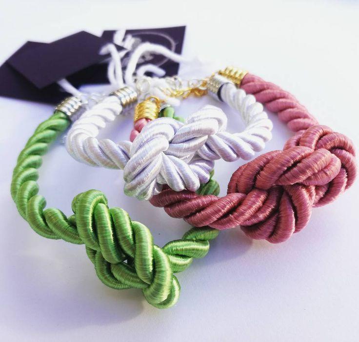 Knot bracelet by Anna Szoke