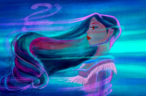 "Pocahontas: my favorite Disney princess ""You think the only people who are people, are the people who look and think like you. But if you walk the footsteps of a stranger, you'll learn things you never knew you never knew."" -Colors Of the Wind (Pocahontas)"