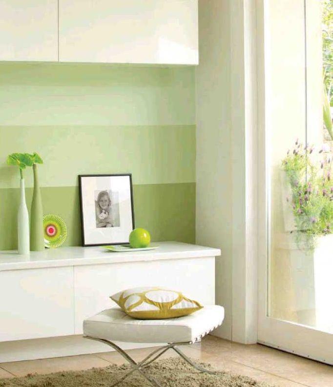 pintar paredes a rayas hazlo tu mismo