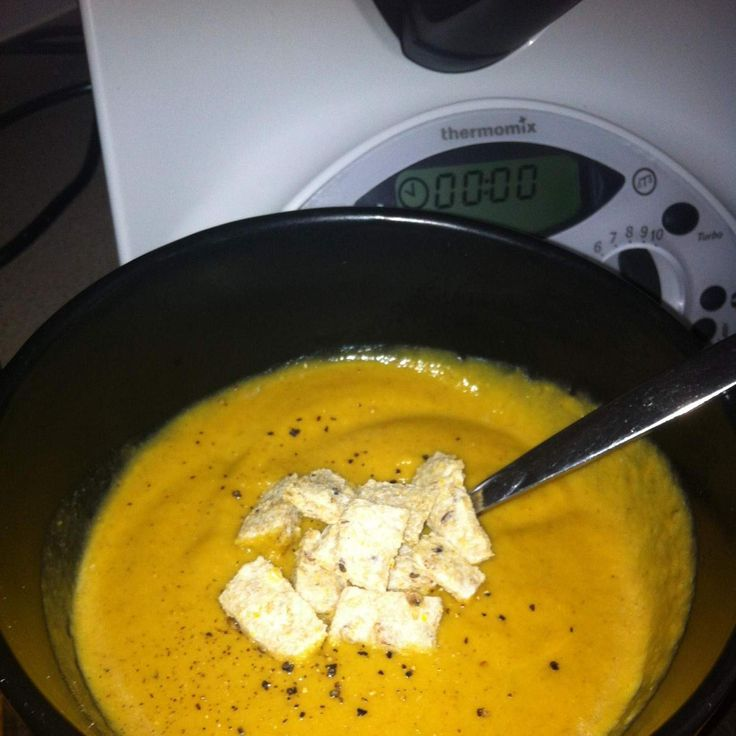 Recipe Roasted Cauliflower & Pumpkin Soup by ekomummy - Recipe of category Soups
