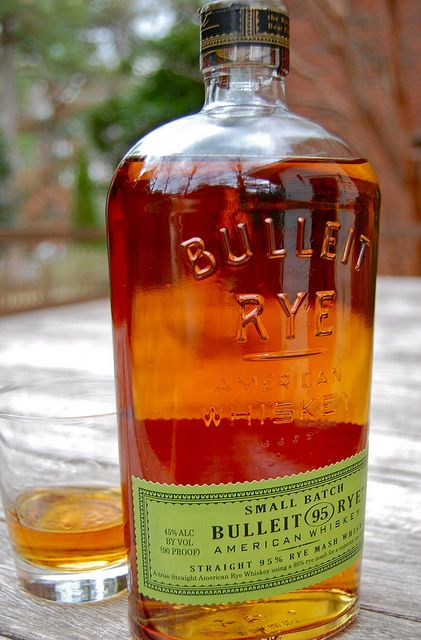 Bulleit 95 Rye Whiskey by Thirsty South, via Flickr