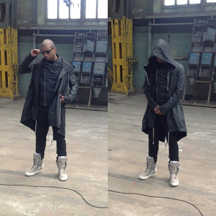 Rick Owens over all!! For Ryan Babel's latest shoot! #Labels #RickOwens