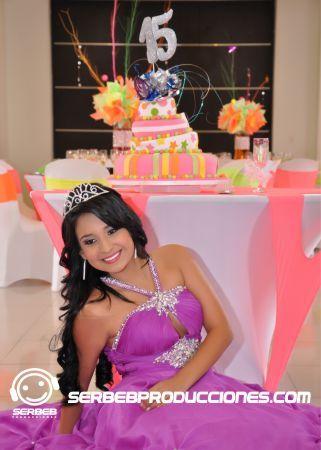 Quinceañera Lila Haz Clic en http://serbebproducciones.com/ Para ver mas fotos