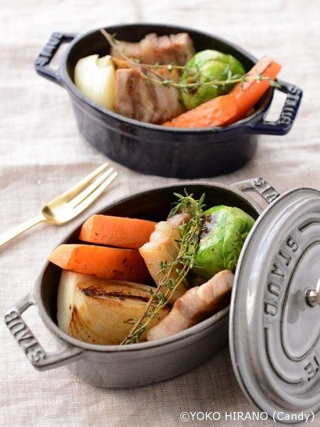 塩豚と野菜のハーブ蒸し by Candy | レシピサイト「Nadia | ナディア ...