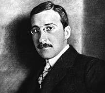 Stefan Zweig ( Austrian novelist, playwright, journalist and biographer)