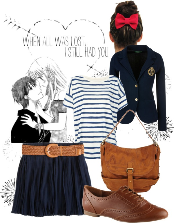 17 Best images about Fruits Basket inspired Outfit on ...  Tohru Fruits Basket Outfits