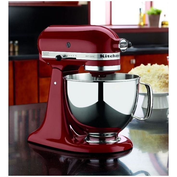 KitchenAid Artisan 5 Quart Mixer in Gloss Cinnamon  :). I have this and it is the best!