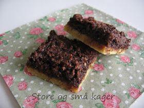 Små og store kager: Kokossnitter...