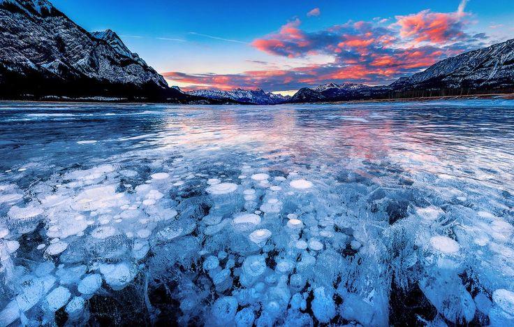 Lac Abraham, Canada