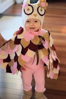 Salty Cinderella: Homemade owl costume: Success!