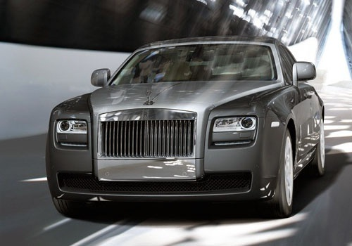 http://www.cardekho.com/carmodels/Rolls-Royce/Rolls-Royce_Ghost  Rolls Royce launched the Rolls Royce Ghost long wheelbase in India today at a voluptuous price of Rs 3.5 crore. The new car is equipped with a 6.6 liter V12 engine which can churn out a staggering 563hp power and a robust torque of 780 NM. The new Ghost long wheelbase dons a ZF8 sped gear box.