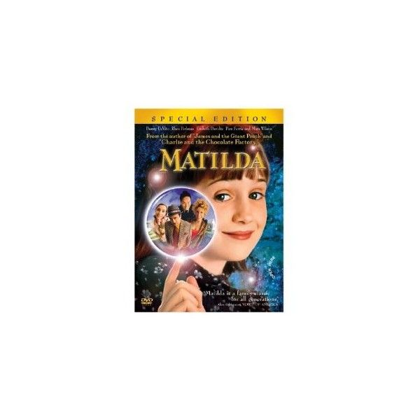 Amazon.com: Matilda (Special Edition): Danny De Vito, Mara Wilson:... ($7.99) ❤ liked on Polyvore featuring movies, electronics, dvd and dvds