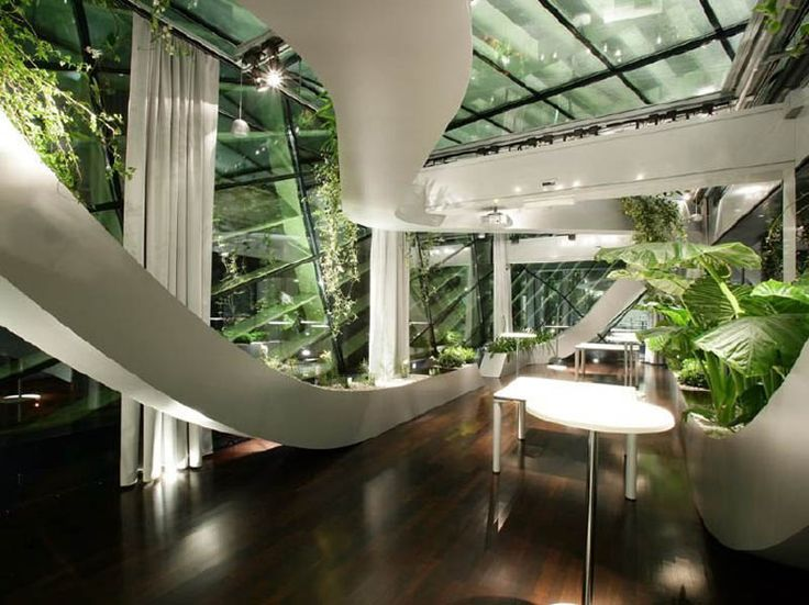 Amazing Rooftop Boardroom with Panoramic Indoor Garden