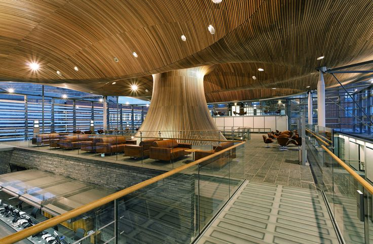 National Assembly for Wales by Rogers Stirk Harbour Architects