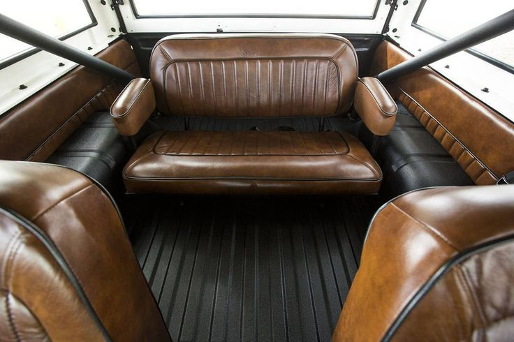 '76 Bronco interior back seat, only at Velocity. #velocityrestorations