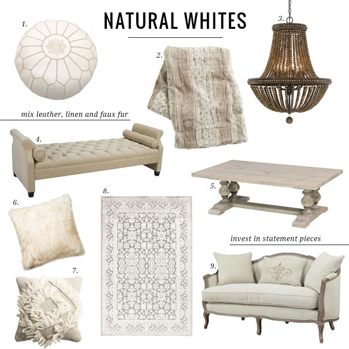 I am totally loving decorating in natural creams, creamy greys, soft whites and muted neutrals …