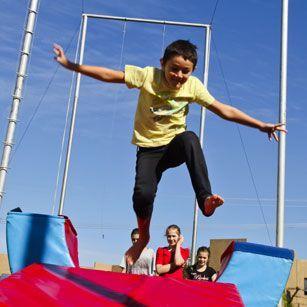 Circus Skills Olympic Park Sydney