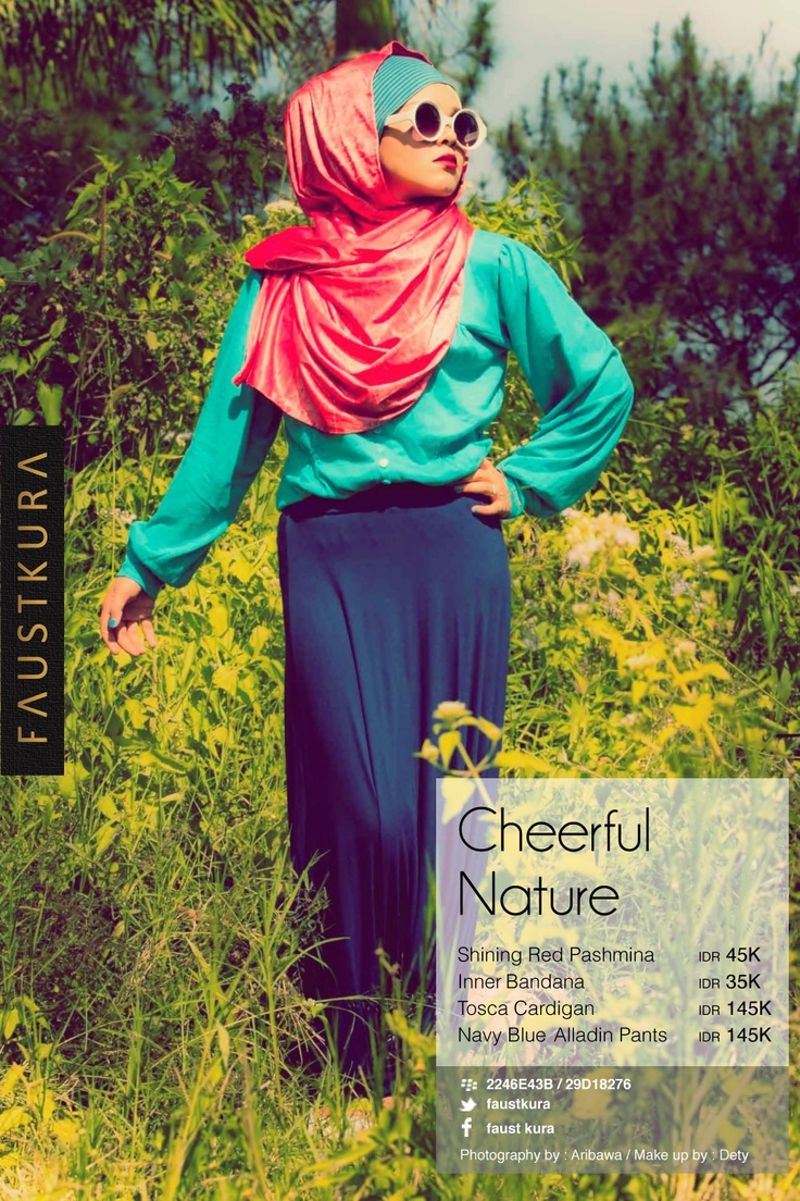 cheerful nature
