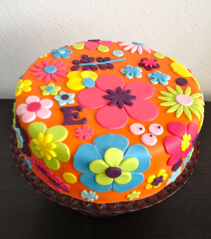 Colourful Fruit Cake: 17 Best Images About Colorful Cakes On Pinterest
