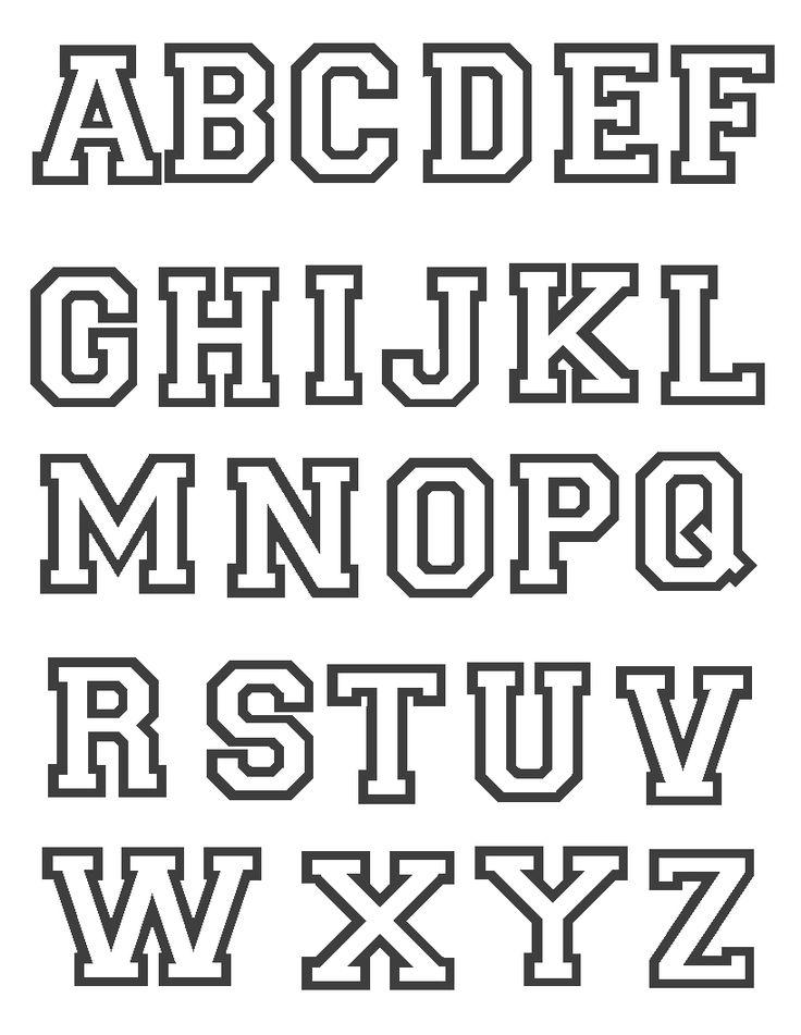 M s de 25 ideas incre bles sobre moldes de letras bonitas en pinterest tipos de letras - Literas bonitas ...