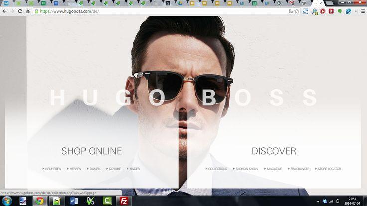 Hugo Boss http://www.hugoboss.com