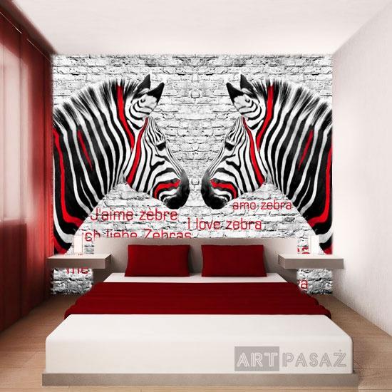 Die besten 25+ Zebra schlafzimmer Ideen auf Pinterest | Zebra ...