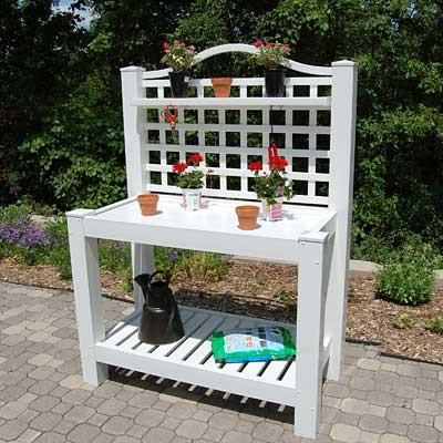 Berkshire Potting Bench - Fortune And Glory - Made in USA Gifts
