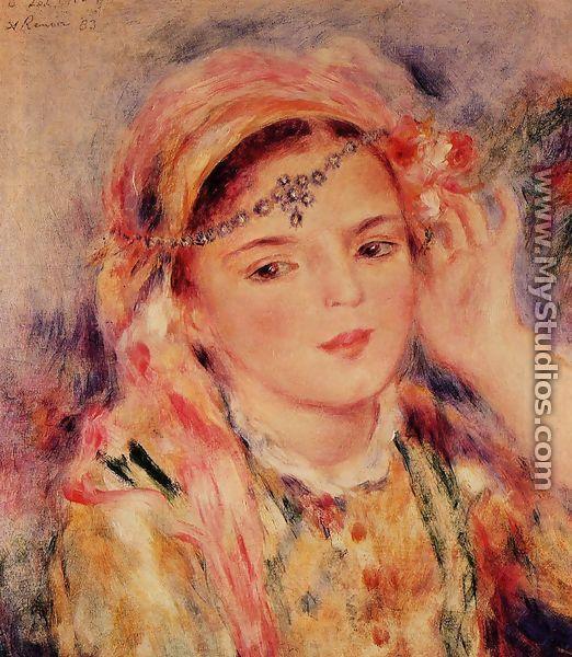 Algerian Woman2 - Pierre Auguste Renoir