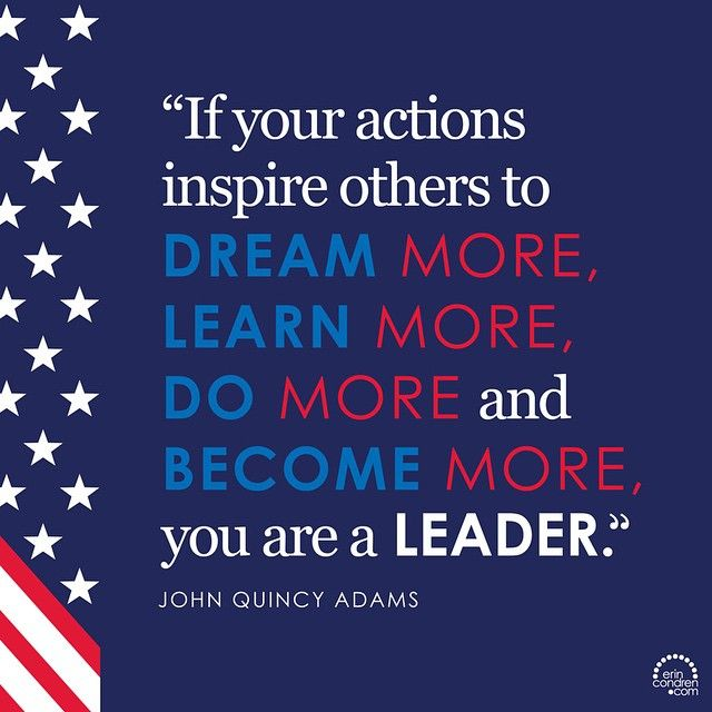 """""""A #MotivationalMonday celebrating our remarkable leaders, past and present. #PresidentsDay"""""""