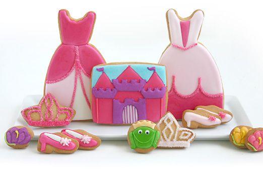 Fairytale Princess Cookies: Fairytale Party'S, Fairytale Cookies, Cookie Gifts, Fairytale Princesses, Cookies Gifts, Gifts Sets, Fairytales