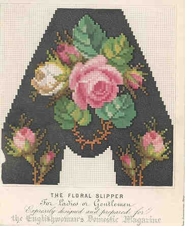 Floral Slipper for Ladies or Gentlemen