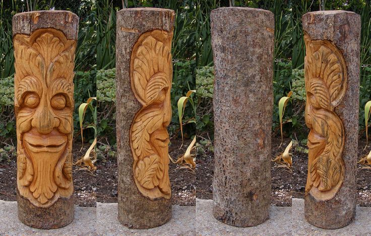 Best images about wood spirits on pinterest