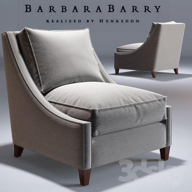 Barbara Barry _Curved Back Lounge Chair_No. 883-33 _Occasional Chair