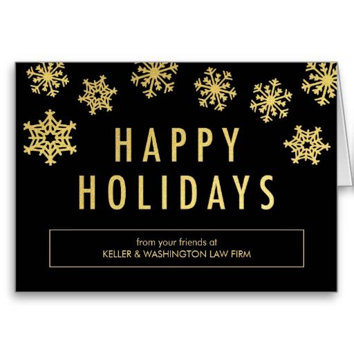 8 best business holiday cards images on pinterest business holiday golden flakes business holiday greeting card colourmoves
