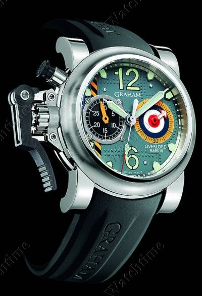 ♂ Masculine & elegance men's fashion accessories watch Chronofighter Oversize Overlord Mark III / Graham www,ChronoSales.com for all your luxury watch needs, sign up for our free newsletter, the new way to buy and sell luxury watches on the internet. #ChronoSalesKEN HARTMAN