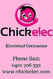 Chickelec - Electrical Contractor.  Locally Owned & Operated in Townsville by Samantha Carpenter