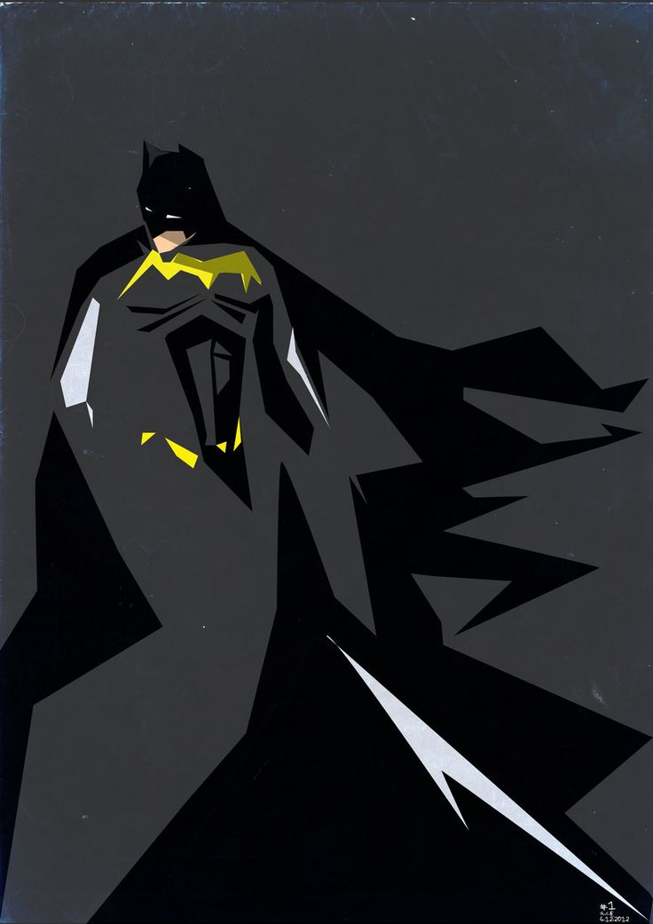 Batman / Poster by ~Colour Only 85 on deviantART