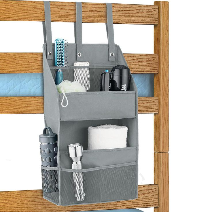 Grey Bunk Bed Organizer Grey bunk beds, Bed organiser