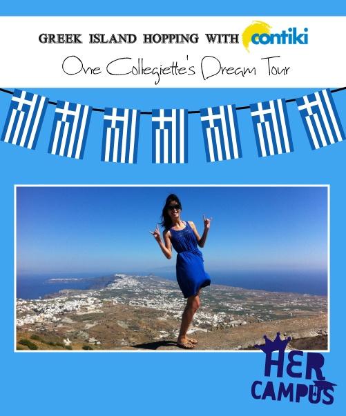 Greek Island Hopping with Contiki: One Collegiette's Dream Tour