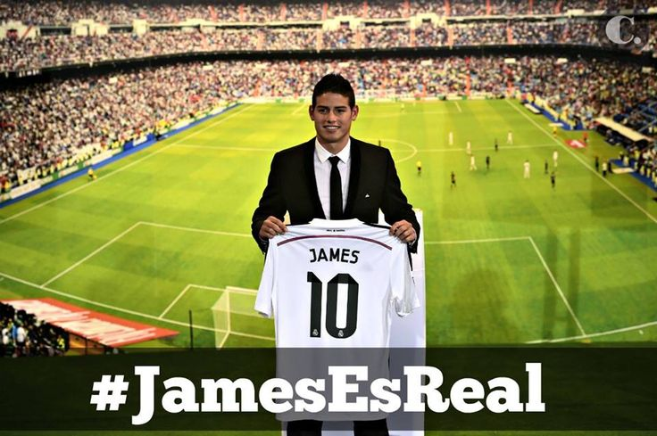 James Rodríguez  # 10 en el Real Madrid
