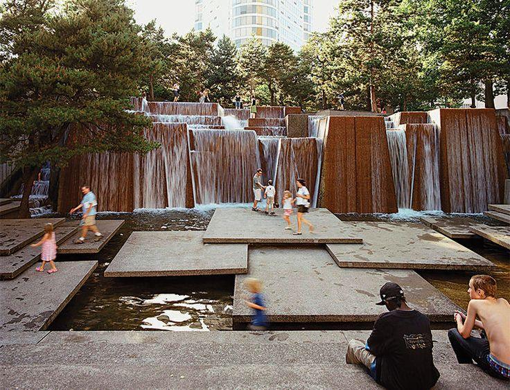 The Ira Keller Fountain, Portland, Oregon by Lawrence Halprin