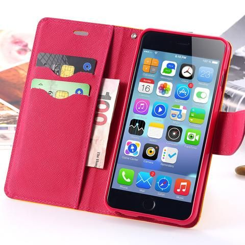 Case For Apple iphone 5 5S SE / 5C Luxury Logo Leather Cases Wallet Po – Hespirides Gifts