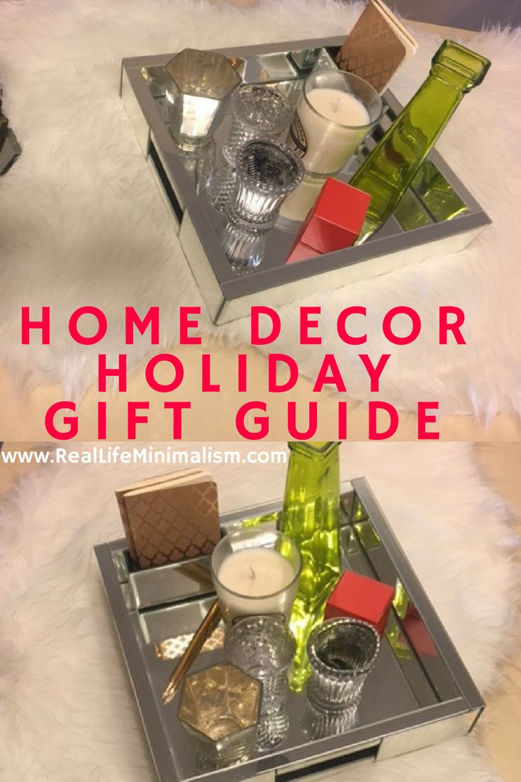 Home Decor Holiday GIft Guide For Simple Luxury On A Budget