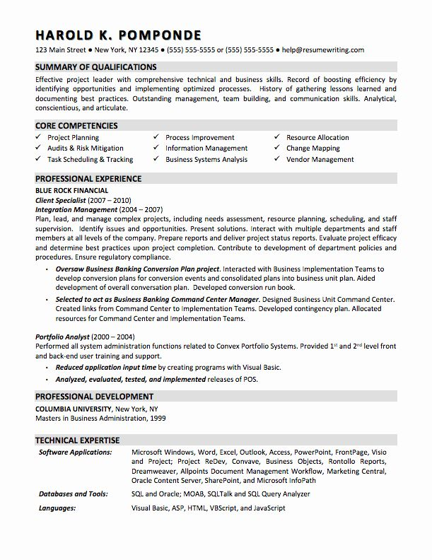 Entry Level Analyst Resume Fresh Sample Resumes Resumewriting