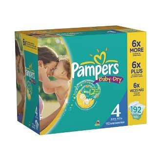 """Best diaper on the market for the past decade! I am a stay at home Mom with 4 children. I have been buying diapers for the past almost 11 years and Pampers Baby Dry is hands down the best diaper on the market, and believe me I have tried them all! All of my kids have been """"super soakers"""" when it comes to pee. These diapers way out perform any other brand including major brands and department store brands $47.19"""